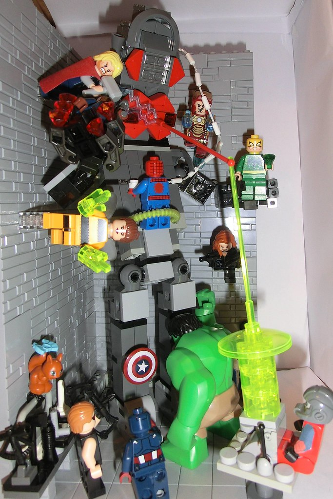lego avengers hulk vs thor - photo #35