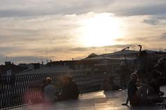 DSC_1608 (David Barrio Lpez) Tags: sunset portugal contraluz atardecer nikon lisboa santacatarina miradouro mirador d90 nikond90 davidbarrio davidbarriolpez