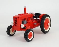 04 (LegoMarat) Tags: tractor lego retro technic moc