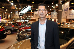 Mario González, de Tibermotor, concesionario Volvo en Getafe.