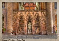 Southwell Minster Cathedral (setsuyostar) Tags: southwellminstercathedral churches cathedrals canoneos5dii autumn2016 october2016 kenhawley hdr churchinteriors topaz