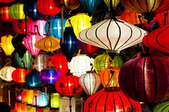 Chinese Lanterns at the Full Moon Festival at Hoi An, Vietnam (tiennguyenccv) Tags: asia background blue chineselantern colorful colourful desktopbackground fullmoonfestival green hoian horizontal image light multicolored multicoloured nightmarket nighttimephotography nobody oldtownsnight orange photo photography red rightsmanaged rm southeastasia stock stocktravelphotos streetphotography travelphotography unesco unescoworldheritagesite vietnam white worldheritagesite yellow centralvietnam