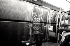 Intro (Adelobra01) Tags: bn bw blancoynegro blackandwhite monocromtico monocromo train tranva streetphotography