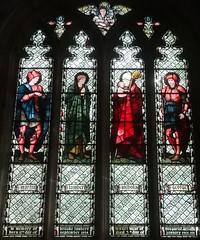 [45574] St Editha, Tamworth : Lambert Window (Budby) Tags: tamworth staffordshire church window stainedglass preraphaelite williammorris edwardburnejones