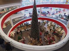 P1030028SIL (Wallus2010) Tags: weihnachten spirale einkaufszentrum panasonic tz61 hdr dri wendeltreppe schnecke