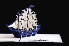 Pop Up Ship (Daniel E Lee) Tags: cards 3d popup popupcard creative art boat ship sailship love hate signpost bicycle tree colorful cherryblossom nature ferriswheel vibrant hongkong travel souvaneirs canon6d6dfullframeprimeprimelensbokehbokehliciousnaturallightambientlightphotosbydleephotographyphotoshoplightroomcanon100mmf28lis 100l 100mm