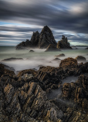 Camel Rock (aldog1977) Tags: camel le longexp nsw ocean rocks sea seascape sunrise water waves