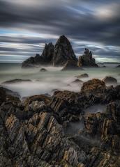 Camel Rock (aldog1977) Tags: camel le longexp nsw ocean rocks sea seascape sunrise water waves