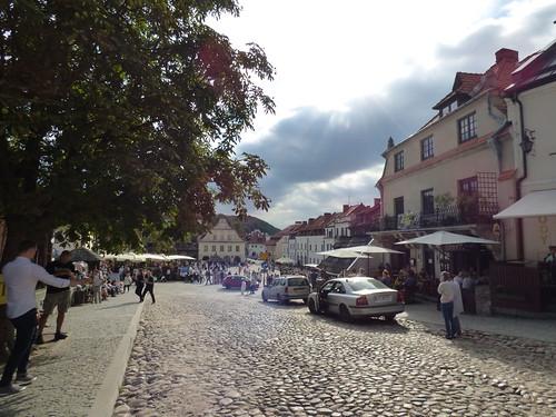 Kazimierz-Dolny - St John the Baptist, street view