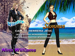Costume Nina Williams Wallpaper (CarlosHerreraJevc) Tags: wordpress flickr fanartsjevc jevcupeditions 2016 tekken fandom ninawilliams wallpapers photoshop october01 costume videojuegos namco hd altadefinicin