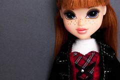 Moxie Girlz Kellan (portraitdiva) Tags: photography portrait teen glam couture fashion plaid redhead poupee muneca doll mga moxiegirlz kellan diva