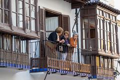 Spain - Malaga - Romantic Ronda (Marcial Bernabeu) Tags: spectators espectadores balcony balcón balcon espectadoras spain españa andalucia andalucía andalusia malaga málaga ronda romantic romántica romantica rondaromantica marcial bernabeu bernabéu people gente