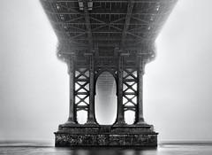 Undies (FerGarciaPhoto) Tags: architecture bw bridge brooklyn city cityscape commons d750 fog longexposure manhattan monochrome newyork nikon outdoor seascape tamron travel unitedstates urban winter