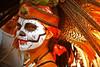 Mexica linda (Harry Szpilmann) Tags: mexico streetphotography people portrait diademuertos mexica mask latina indian girl mexique halloween party