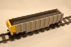 Coal Hopper (wildchicken_13) Tags: wildchicken13 lego train moc freight coal open hopper car gondola
