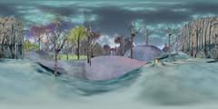 sl360@LEA 12, A watercolour wander. (ErikoLeo) Tags: lea ceakayballyhoo 360° panorama flickrlovers landscape firestorm secondlife