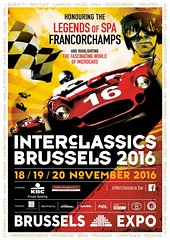You are very welcome to visit our stand at Interclassics Brussels (18 - 20 November 2016)