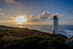 Faro de Laxe (MigueR) Tags: espaa galicia lacorua laxe lage faro mar atardecer cielo nubes sky paisaje landscape lighthouse sunset sea clouds s samyang12mm