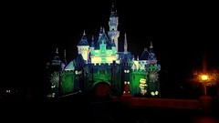 Spooky Castle (joe Lach) Tags: disneyland castle sleepingbeautycastle halloween decorations projections night lights show aneheim california joelach spookycastle