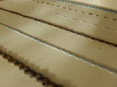 More lines (Landanna) Tags: morelines lines lijnen embroidery broderi borduren embroideryonpaper broderippapir bordurenoppapier chainstitch stemstitch runningstitch bullionknot handmade handgemaakt