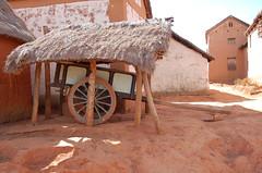 Prs du Lac Itasy, Madagascar (Roland de Gouvenain) Tags: madagascar chariot carriage countryside campagne village zebu rural farming fermiers