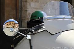 Todi in Vespa (Magic Brix) Tags: umbria sidecar candidata concorso piazza specchio moto todi vespa riflesso italia concorsi strada