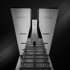Kranhaus II (vulture labs) Tags: fineartphotography architecture fineart longexposure zeiss blackandwhite cologne kranhaus crane house bw
