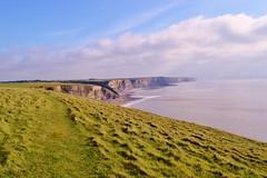 Jurassic coast (cmw_1965) Tags: dunraven southerndown coastline coast mid glamorgan cliffs sea headland