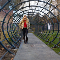 Tunnel (Pap_aH) Tags: portrait panoramique panoramic brenizer bokehrama 2016 jardin garden france nord croix north modele model papah