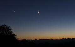 Coucher_Lune-Venus_20161202_b (frankastro) Tags: lune moon astrophotography astronomy venus planet