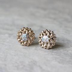 Bridesmaid earrings gift! http://buff.ly/2dMTzi8 #etsy #weddings #2017wedding #bridesmaid #brides #jewelry (petalperceptions.etsy.com) Tags: etsy smallbiz flowers jewelry