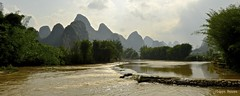 Chine du Sud 2016 - Yangshuo (philippebeenne) Tags: chine china yangshuo dragonriver landscape waterscape paysage