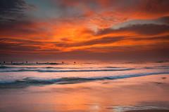 surf and sunset (Henrik Kalliomäki) Tags: sunset sun sky clouds beach hikkaduwa srilanka canon graduated filter travel explore seascape nature dslr