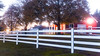 Sunsets on Red Barn and White Fence (Buckley Fence, LLC) Tags: whitefencefarm chicagoland pettingzoo illinois fall steelfence wiremesh blackmesh buckleyfence steelboard whitefence goldenhour sunset