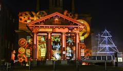 Albertdock light show (paul hitchmough photography) Tags: uk festiveseason nikon1635f40 nikond800 rivermersey artshow lights liverpool albertdock paulhitchmoughphotography lightshow