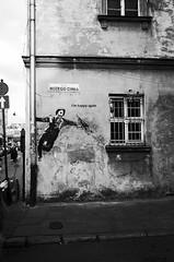 L0042603 (---lk---) Tags: ricoh gr sooc jpg high contrast blackwhite bw blackandwhite cracow krakow poland polska kazimierz happy again oldtown