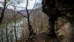 view from the cave (cleotalk) Tags: asbury trails ky kentucky hiking wilmore cave river