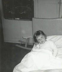 No Sleepy Head- July 1962 (912greens) Tags: kids girls children bedtime beds chalkboards toys rockinghorses 1960s folksidontknow interiors pajamas