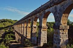 Roman aqueduct (Jacques Borruel) Tags: aqueduc catalogne espagne romain pierres antique ancien