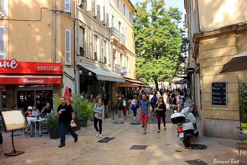 Rue Espariat à Aix-en-Provence