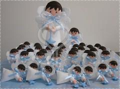 Anjinhos para batizados (Sue Paula) Tags: anjos batizados feltro enfeitedefesta