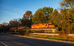ISRR 3371 Petersburg IN 05 Nov 2016 (Train Chaser) Tags: isrr isrr3371 indianasouthernrailroad sd402