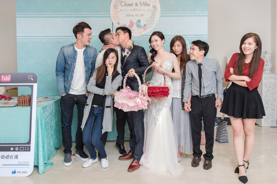 台南婚攝 婚禮紀錄 情定婚宴城堡 C & M 179