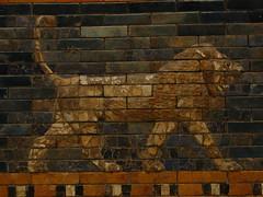 Ishtar Gate lion (Sparky the Neon Cat) Tags: europe germany deutschland berlin mitte museum island museumsinsel pergamon ishtar gate lion babylon