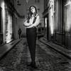 A LA NUIT TOMBEE (zventure,) Tags: nb noiretblanc bw blackandwhite monochrome modèle mannequin paris portrait personne ruelle rue hasselblad 500cm hasselblad500cm carré argentique analogic