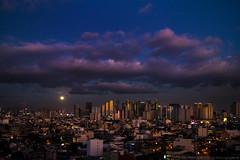 Looks The Same (Bong Manayon) Tags: bongmanayon pentaxk01 pentax k01 makatiskyline manilacity supermoon philippines moon