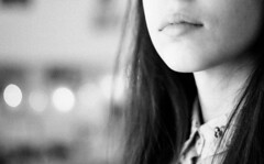 (marikacaliumi) Tags: girl girly lips bokeh blackandwhite beauty 50mm fixedlens nikon nikond90 nikonphotography details delicate model photography photo photographer portrait portraiture photoshoot person profile selfportrait self myself me