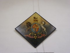 Royal arms. George III (Granpic) Tags: northumberland northumbrianchurch lesbury lesburystmary royalarms heraldic