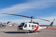 Nevada Division of Forestry Bell UH-1H N987SF (jbp274) Tags: lsv klsv airport aviationnation display airshow nellis nellisafb bell uh1 huey helicopter nevadadivisionofforestry