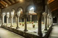 Monastre de Sant Pere de Casserres (PierreG_09) Tags: monastredesantperedecasserres monastre santperedecasserres espagne catalogne spain espaa espanya catalua catalunya glise clotre colonne chapiteau